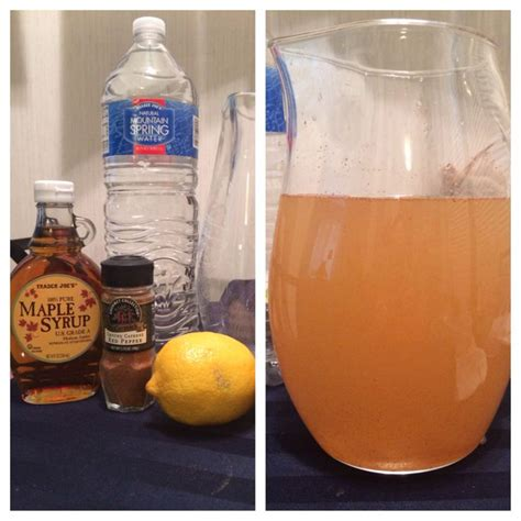 Detox Diet Lemon Juice Maple Syrup Cayenne Pepper by Pin By Cast Light On Vegan