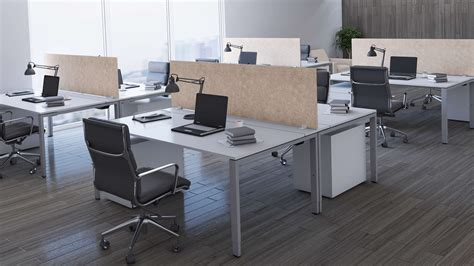 free standing desk mount privacy panels obex panel extenders