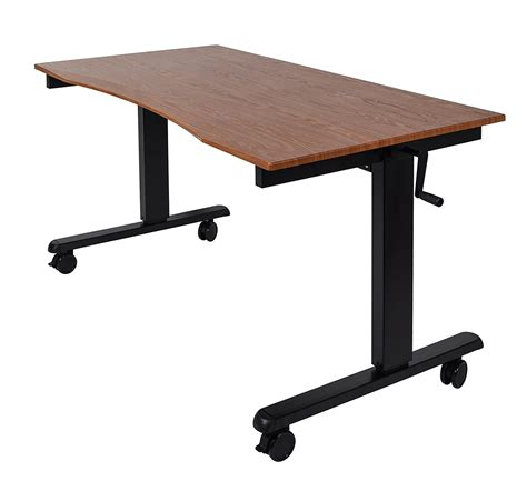 bell o adjustable height desk the best pc gaming computer desks ign