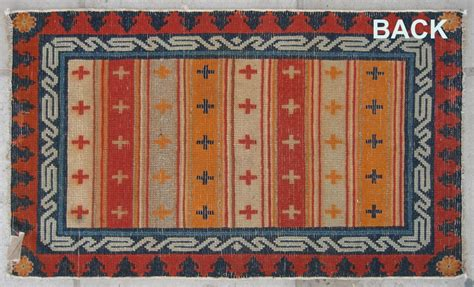 tibetan prayer rug no r140 tibetan antique prayer rug p ulo thigma size 61x106cm 24 quot x 42 quot origin tibet