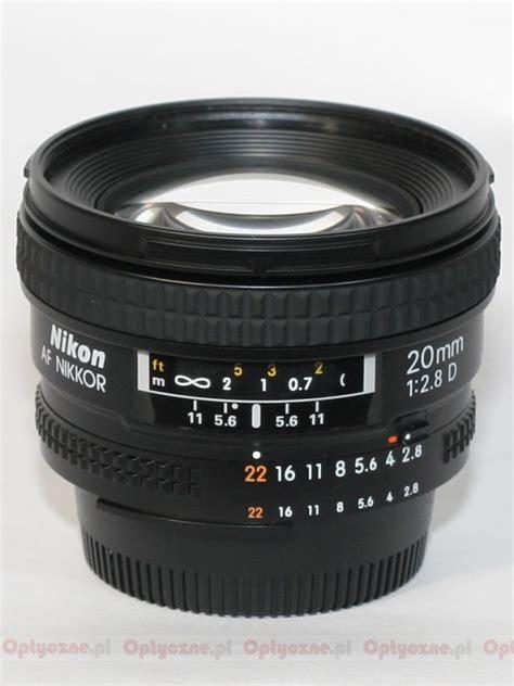 Nikon Af 20mm F 2 8d Lens nikon nikkor af 20 mm f 2 8d review pictures and