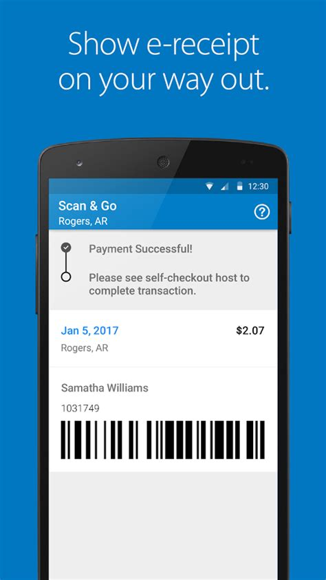 walmart app for android phone walmart finally rolls out its scan go app to android
