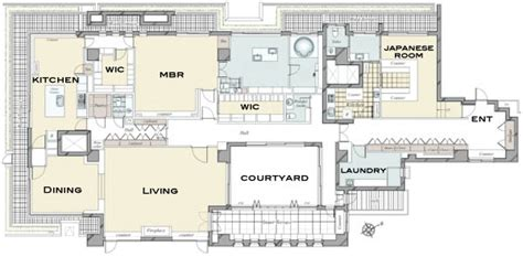 Unique Houseplans by The House Minamiazabu Penthouse Floorplan Now Available