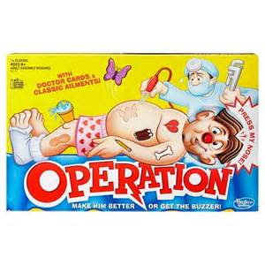 Hasbro 174 operation silly skill game product details page