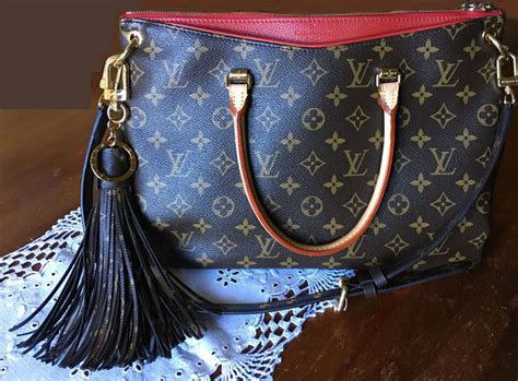 louis vuitton monogram tassel bag charm catawiki
