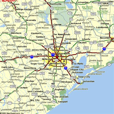 texas map houston area image gallery houston area map