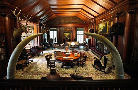 Sagamore Room by Theodore Roosevelt S Sagamore Hill Home Cries Bully