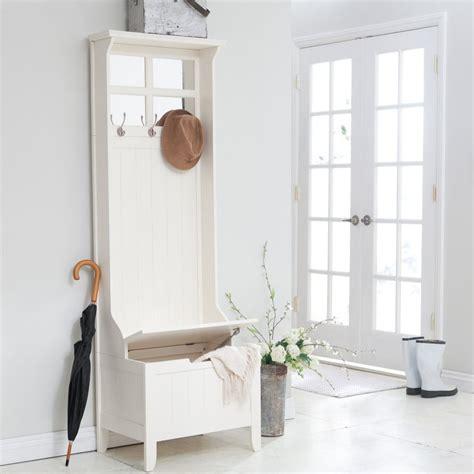 mini hall tree storage bench entryway mini hall tree coat rack wood bench storagepaned mirror scarf shoes ebay
