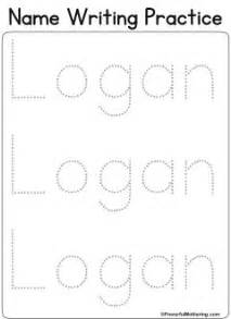 Teaching To Write Their Name Templates by Best 25 Name Writing Practice Ideas On Name