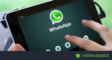 whatsapp basic tutorial c 243 mo instalar whatsapp en tu tablet android