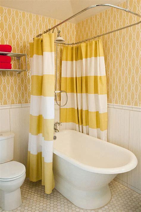 shower curtain freestanding bath