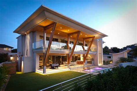 ultra contemporary homes ultra modern home in perth with large roof idesignarch