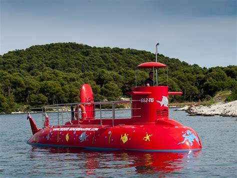 Island Semi Boot semi submarines in croatia