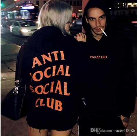 Is Paranoid Cheap by 2017 2017 Anti Social Social Club Hoodie Paranoid Anti