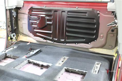 Toyota Tundra Stereo Upgrade Toyota Tundra Crewmax Complete Audio System Upgrade El