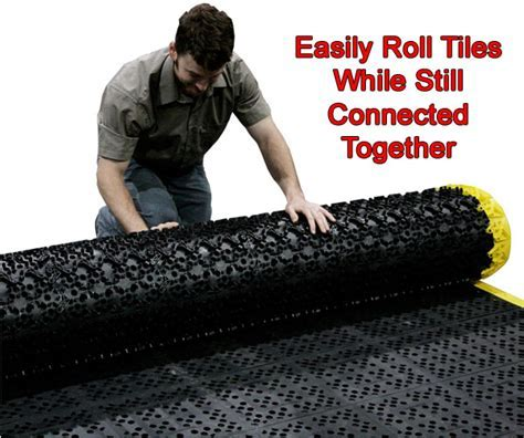 F.I.T. Drainage Ergonomic Interlocking Tiles   American