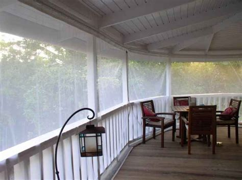 mosquito curtains inc how to screen a deck gallery 3 of 16