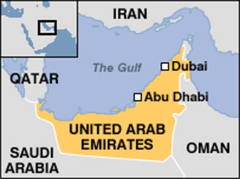 middle east map uae news middle east seven killed in dubai air crash