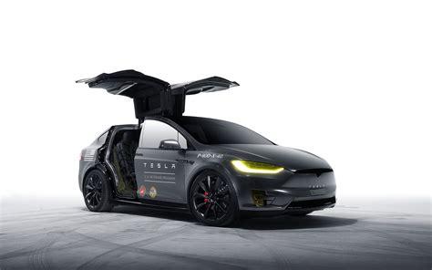 Tesla Car Wallpaper Hd by Model X Tesla Motors Wallpaper Hd Car Wallpapers Id 5976