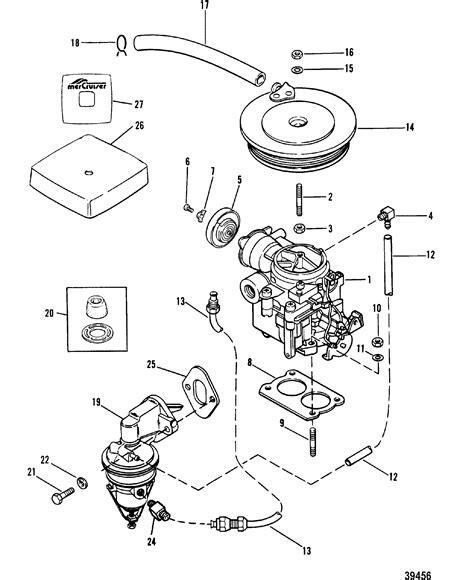 carburetor  fuel pump     mercruiser