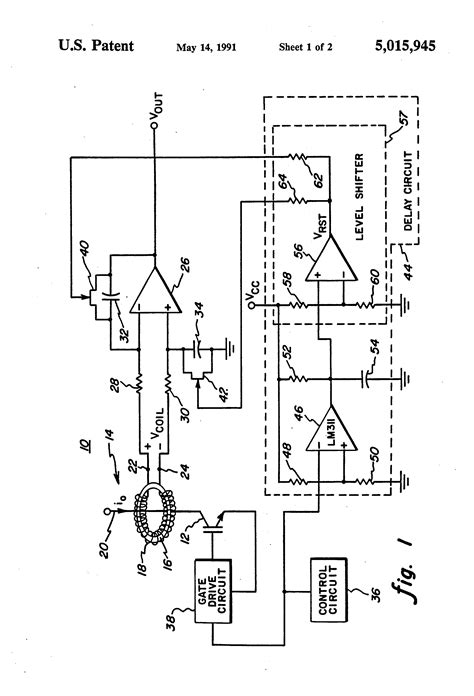 integrator circuit for rogowski coil patent us5015945 current sensor for measuring current in a semiconductor switch patents