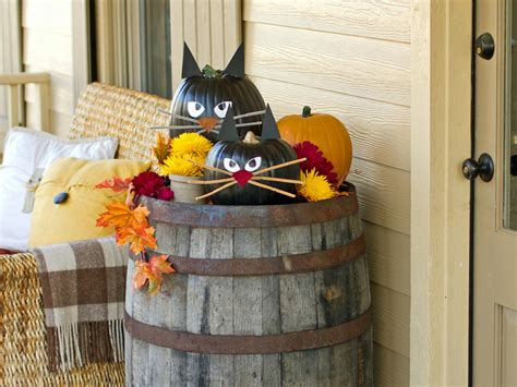 halloween decoration ideas to make at home outdoor halloween decorations for kids hgtv s decorating