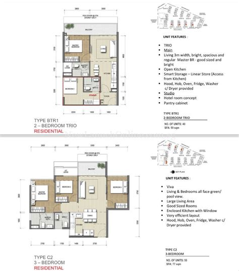 Northpark Residences Floor Plan by North Park Residences Showflat Hotline 61008935 Showroom