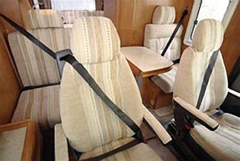 rv seat belts motorhome seat belt laws