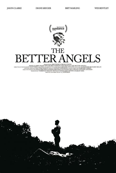 the better angels of first poster for terrence malick produced sundance bound the better angels