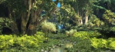 Indian Wall Murals xfrog tropical scenes jungle stream 2