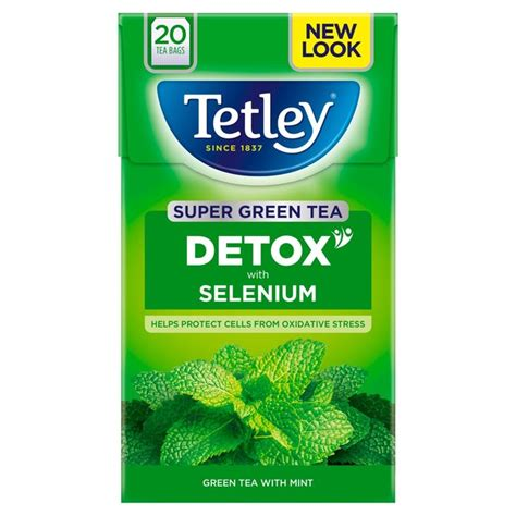 Mint Tea Detox Review by Morrisons Tetley Green Tea Detox Mint 20 Per Pack