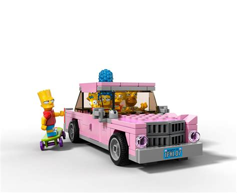 lego house lego simpsons house car bricking around
