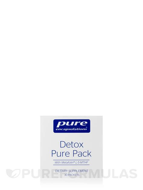 Detox Pack For by Detox Pack 30 Packets