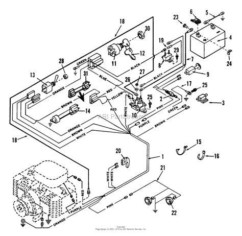 2 parts diagram snapper lt12502 12 5 hp disc drive tractor series 2 parts
