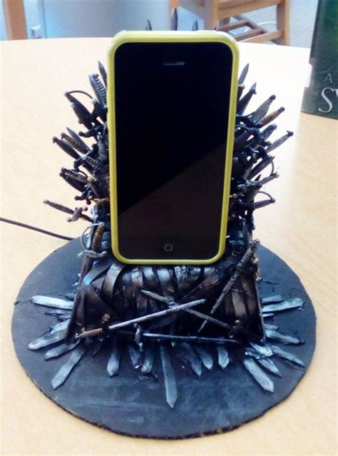 Awesome Christmas  Ee  Gift Ee   Of Thrones Iron Throne Phone