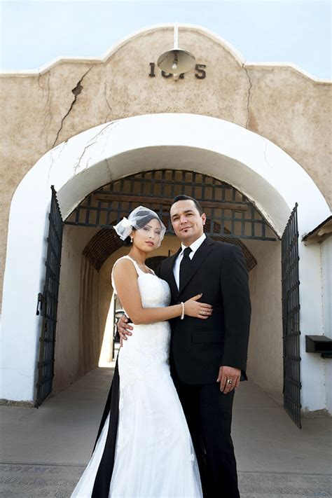 Kirby and Jake's Classic Black and White Wedding in Yuma