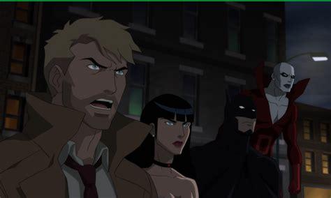 new justice league dark clip features batman and batman vs shrouds in all new justice league dark clip