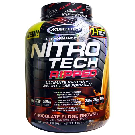 muscletech nitro tech muscletech nitro tech ripped ultimate protein weight