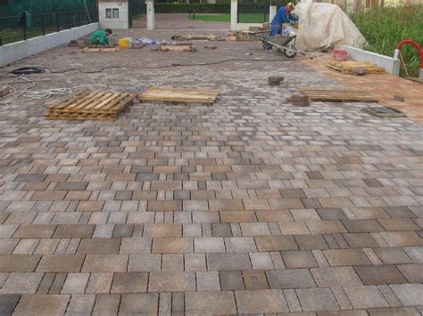 cement outdoor floor tiles with stone effect country
