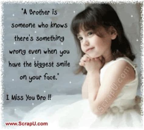 missing you brother quotes
