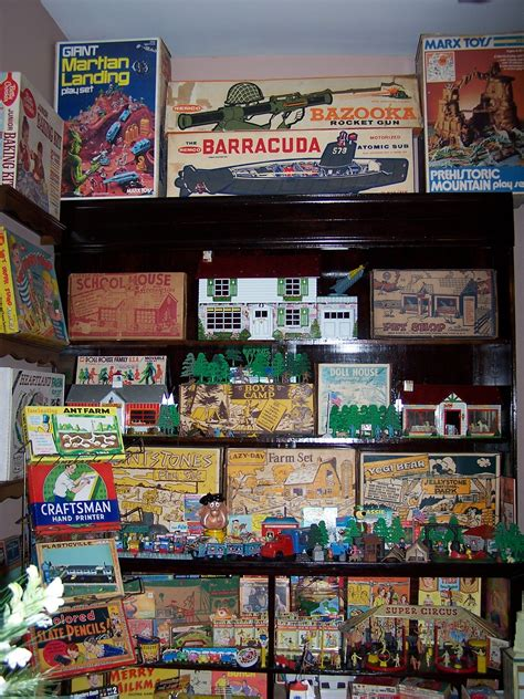 toys marx playsets    collections vintage