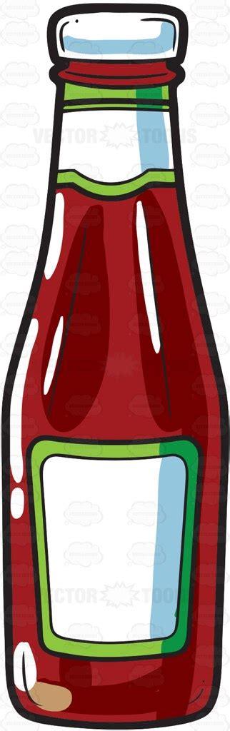 Dartslive Card Bottle Of Ketchup a bottle of tomato ketchup vector clip