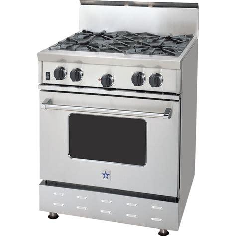 Oven Stove rcs304bv2ng bluestar 30 quot gas range 4 burners