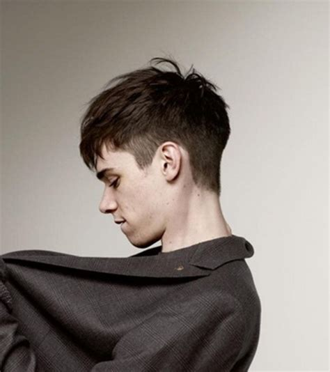 hairstyles for men with a model block new mens hairstyles 2015