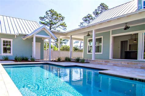 house with pool attachment u shaped house plans with pool 278