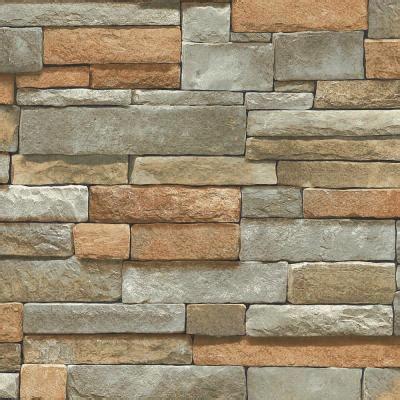 the wallpaper company 56 sq ft multi color ledge