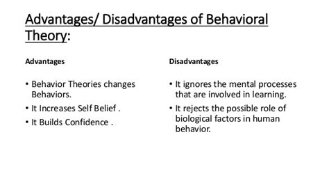 advantages disadvantages of people oriented leadership basic approaches to leadership trait theory and behaviour