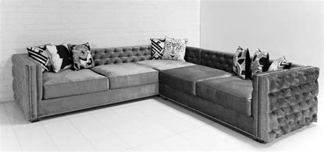 gray velvet sectional www roomservicestore com inside out new deep sectional