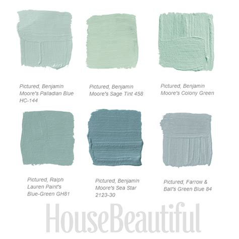 green blue paint colors 1000 images about color beauty on pinterest