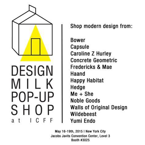 design milk icff design milk curated pop up shop at icff 2015 design milk